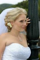 svatební líčení a účes